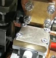 铜编织线自动焊接专机