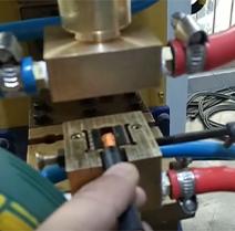 新能源汽车铜线端子焊接