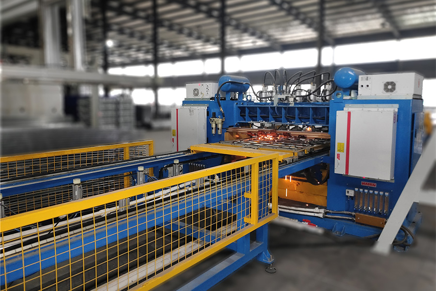 ibc吨桶框架生产线